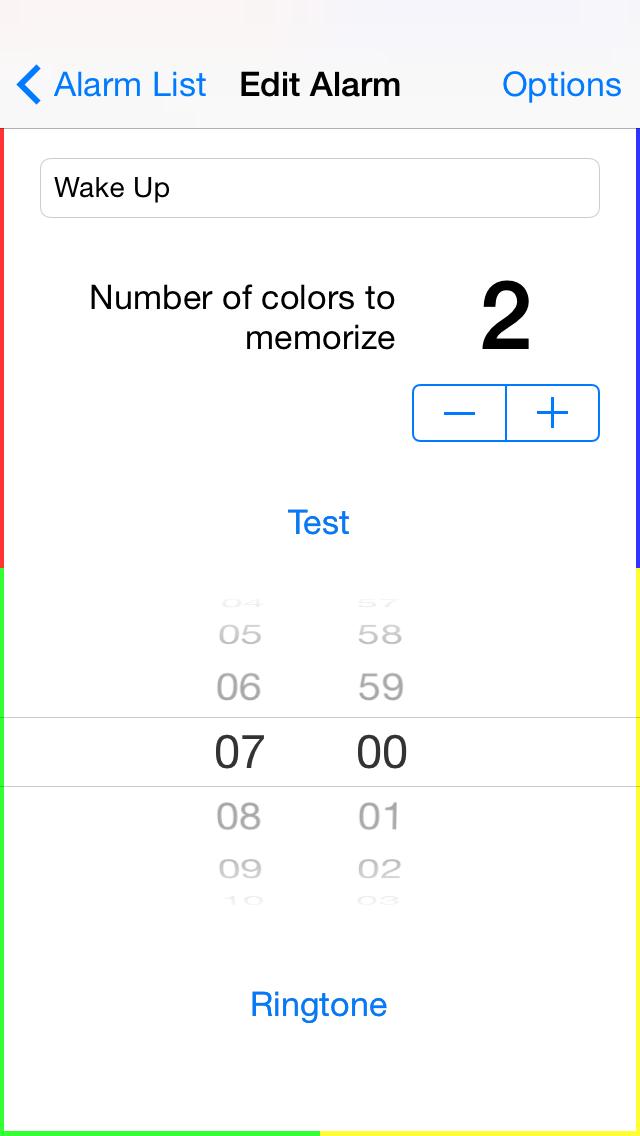 Gedächtnis Wecker - iphone1