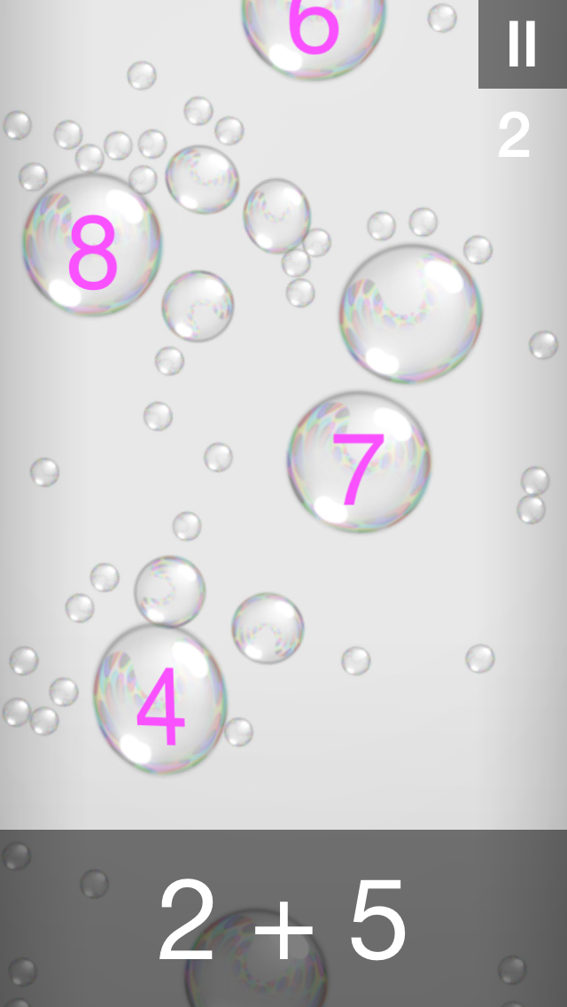 Bubble Stream – Mathe Edition - iphone1