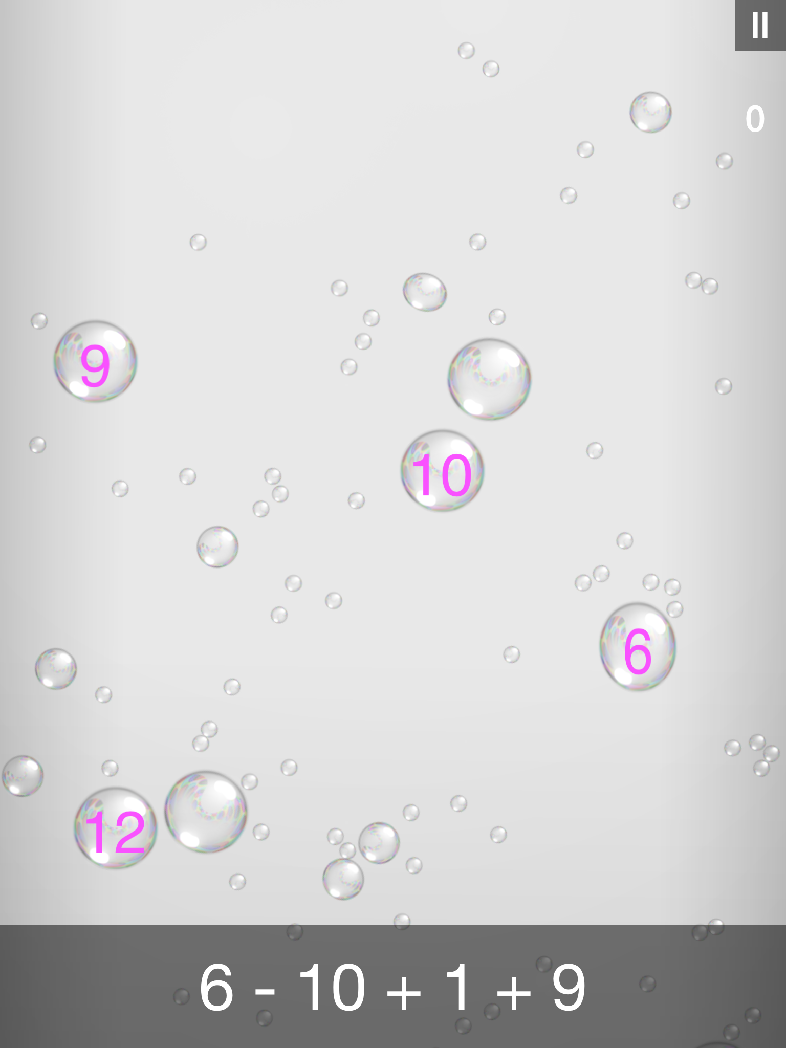 Bubble Stream – Mathe Edition - ipad2