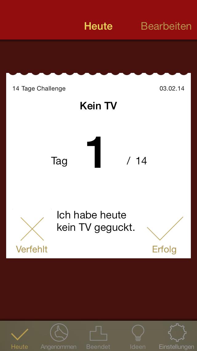 nDay Challenges – Ändere Dein Leben für n Tage - iphone1