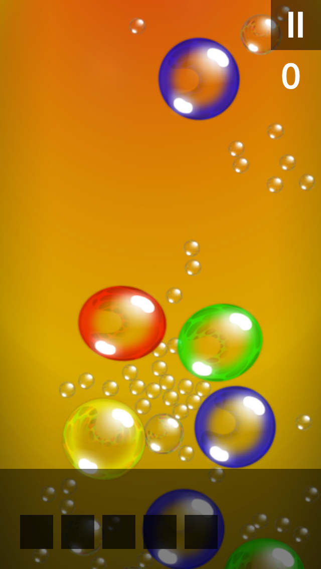 Bubble Stream – Memory Trainer Edition - iphone1